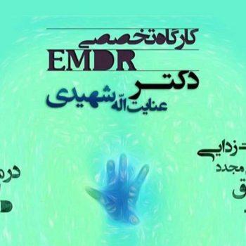 کارگاه مقدماتی EMDR حساسیت زدایی و بازپردازش از طریق حرکات چشم دکتر شهیدی